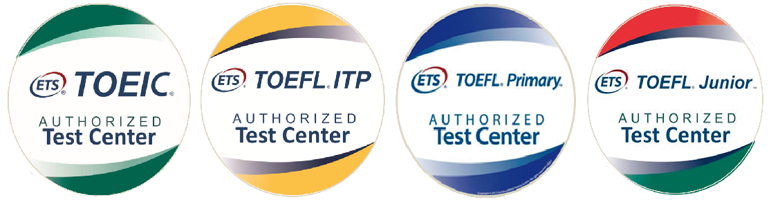 toeic toefl 4 logos